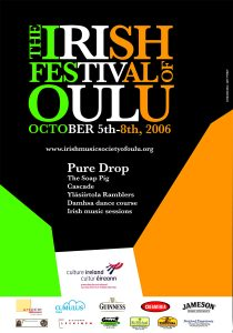The Irish Festival of Oulu poster 2006