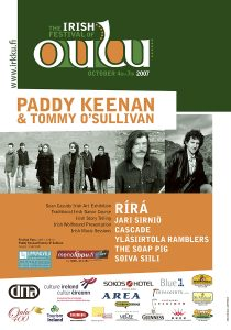 The Irish Festival of Oulu poster 2007