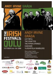 The Irish Festival of Oulu poster 2008