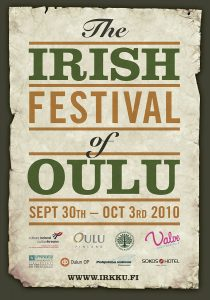 The Irish Festival of Oulu poster 2010