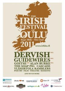 The Irish Festival of Oulu poster 2011