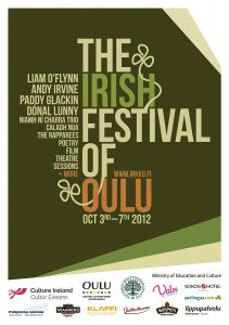 The Irish Festival of Oulu poster 2012