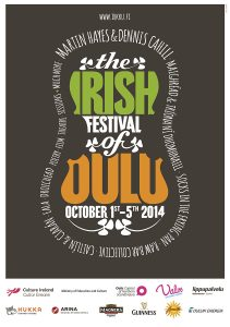 The Irish Festival of Oulu poster 2014