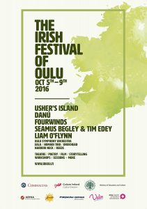 The Irish Festival of Oulu poster 2016