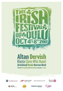 The Irish Festival of Oulu poster 2017