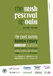 The Irish Festival of Oulu poster 2018
