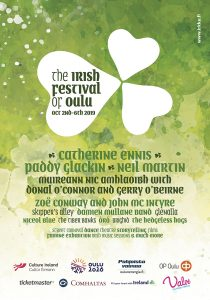 The Irish Festival of Oulu poster 2019