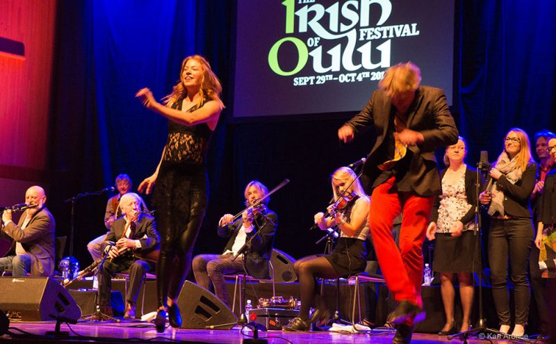 The Chieftains at the Irish Festival of Oulu 2015, photo by Kari Arontie